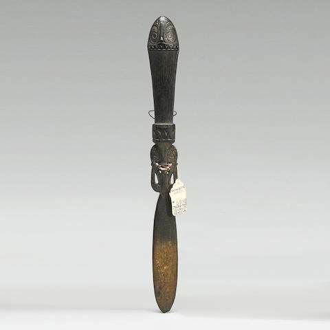 Trobriand Islands Spatula, Papua New Guinea