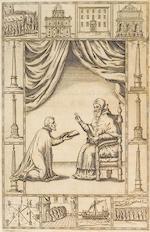 BORDINI, GIOVANNI FRANCISCO. c.1536-1609. De rebus praeclare gestis a Sixto. V. Pon. Max. Rome: J. Tornerius/F. Zanettus, 1588.