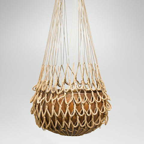 Bowl with Olona Netting, Hawaiian Islands