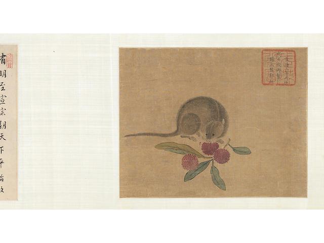 A hand scroll