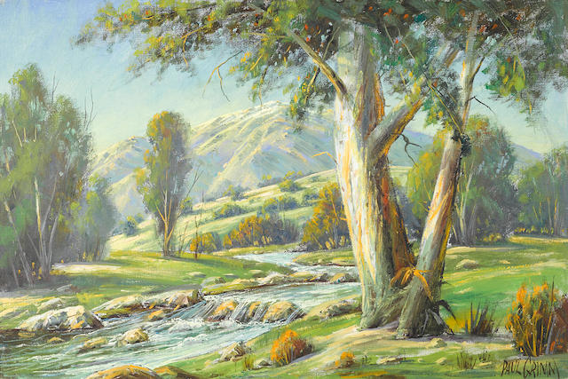 Paul Grimm, Near Mt. Baldy