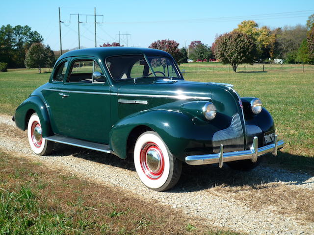 Exquisitely restored to the last detail and well-preserved since,1939 Buick Model 46C Special Sport Coupe  Chassis no. 23491052 Engine no. 48699820