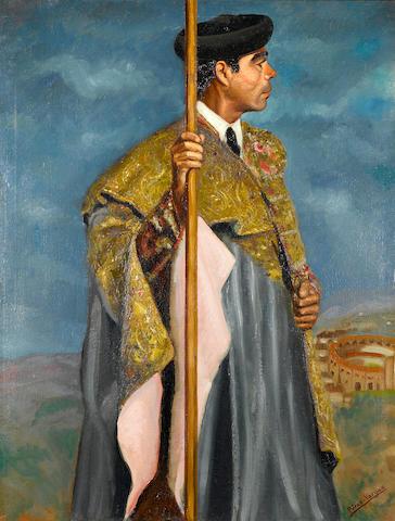 Perez-Vargas El Matador 46 x 35in