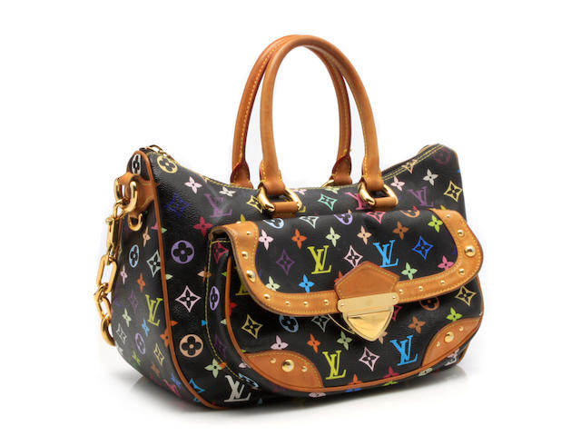 A Louis Vuitton multicolor monogram handbag