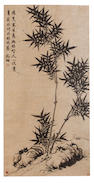 After Wen Zhengming (19th century) Bamboo and Rock