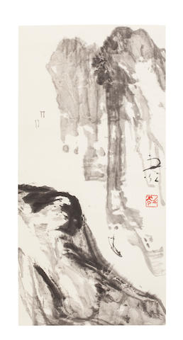 Xie Zhiguang (1900-1976) Ink Landscape