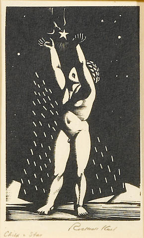 Rockwell Kent (American, 1882-1971); Child and Star;