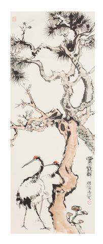 Cheng Shifa Crane and Pine