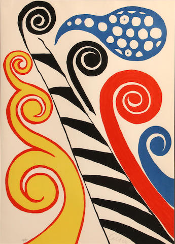 Alexander Calder (American, 1898-1976); **1/4-emailed foundation to verify** Fiesta;
