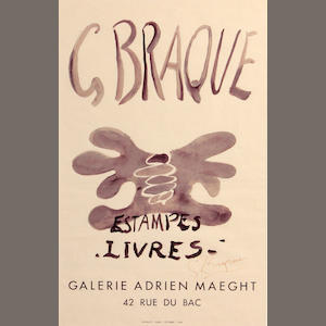 Georges Braque (French, 1882-1963); Estampes-Livres, Galerie Adrien Maeght;