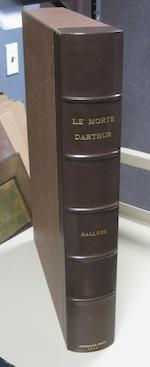ASHENDENE PRESS. MALORY, THOMAS. Le Morte Darthur. Chelsea: Printed by John Hornby at the Ashendene Press, May, 1913.