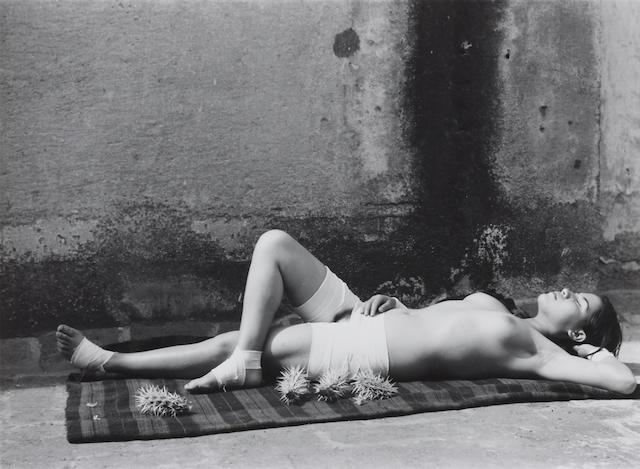 Manuel Alvarez Bravo (1902-2002); La buena fama, durmiendo (The Good Reputation Sleeping);