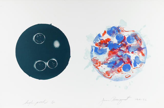 James Rosenquist (American, born 1933); High-Pool;