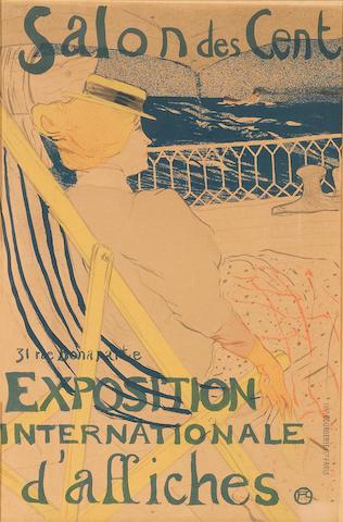 Henri de Toulouse-Lautrec (1864-1901); La passagère du 54 - Promenade en yacht;
