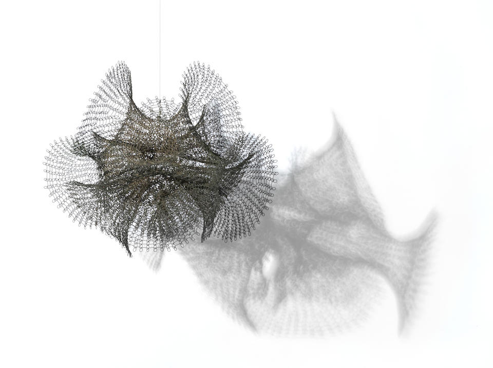 Ruth Asawa (born 1926) Untitled (S.454, Hanging Six Interlocked Double Trumpets with Two Extra Trumpets), c. 1957 16 x 18 1/2 x 17in (40.6 x 47 x 43.2cm)