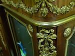 A fine Louis XVI style gilt bronze mounted satinwood vitrine cabinet   François Linke late 19th/early 20th century