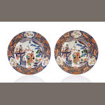 Pair of arita plates