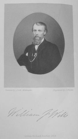 WILLS, WILLIAM JOHN. 1834-1861.  A Successful Exploration Through the Interior of Australia. London: Richard Bentley, 1863.<BR />