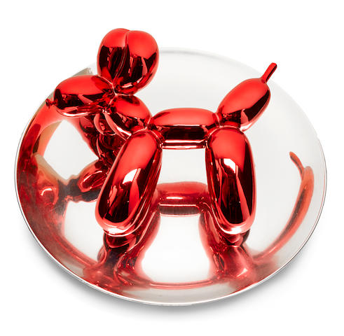 Jeff Koons (American, born 1955); Balloon Dog - Red;