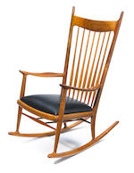 Sam Maloof (American 1916-2009) Rocking chair, circa 1964