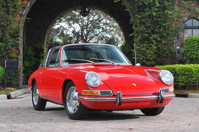 1967 Porsche 911 Targa  Chassis no. 500695 Engine no. 911989