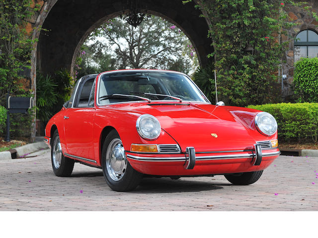 1967 Porsche 911 Targa  Chassis no. 500695 Engine no. 911989