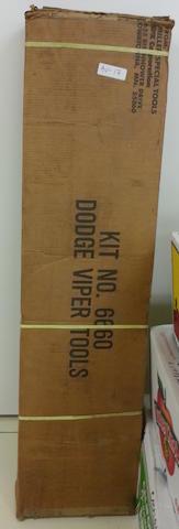 A Dodge Viper Special Dealer Mechanics' Tools in original box Kit #6660,
