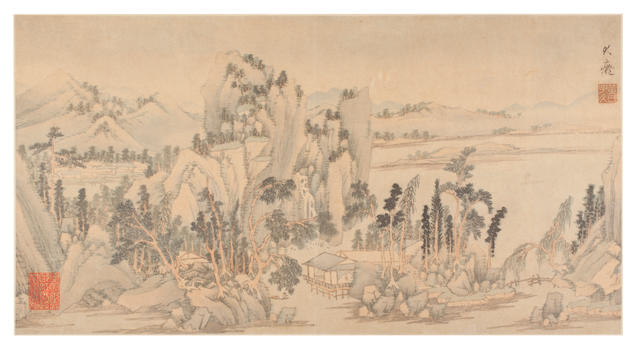 After Huang Gongwang (19th Century) An album of eight leaves