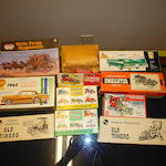 Variety of Unbuilt Car and Wagon Model Kits, all vintage,