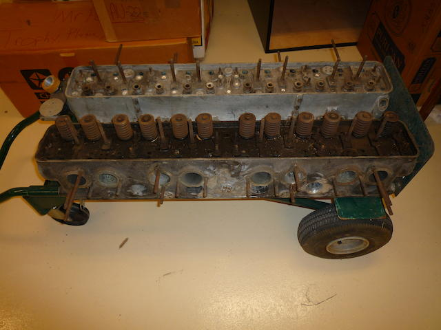 Rolls Royce Phantom Cylinder Head, with valves, evidence of crack repair,