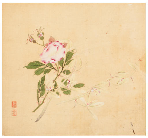 Qian Chao (19th century) Album of Eight Leaves