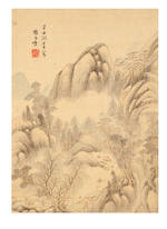 Hu Mei (active late 17th century), Yang Jiugai (1598-1677) and various artists Album of landscapes, birds and flowers, 1661