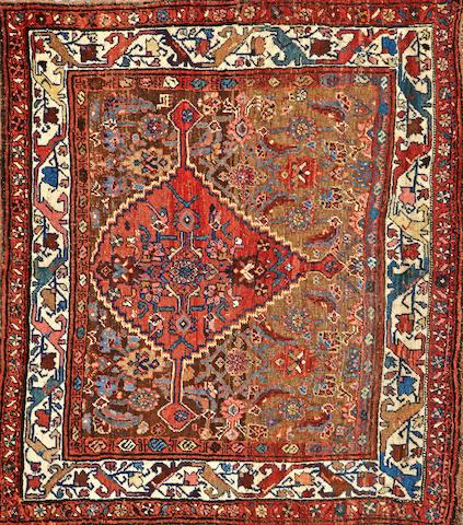 A Bidjar Sampler Northwest Persia size approximately 4ft. x 4ft. 8in.