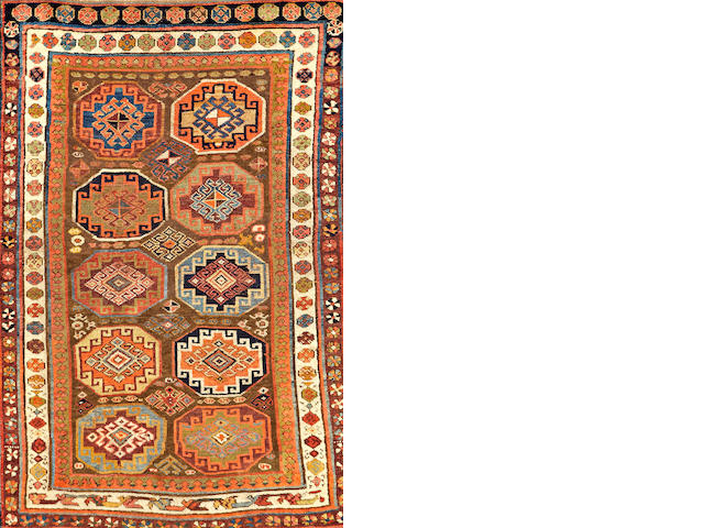 A Kurdish rug  Northwest Persia size approximately 4ft. x 6ft.