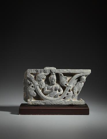 Stone panel of Dionysus, Gandhara, Circa 1st century
