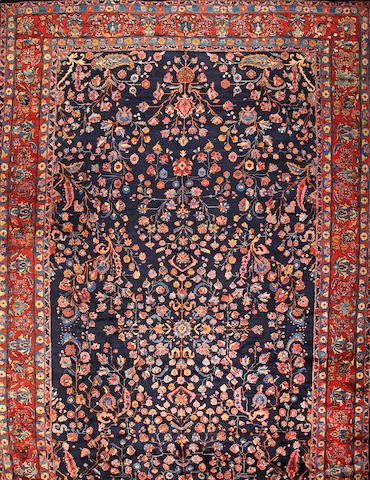 A Bibikabad carpet  Central Persia size approximately 13ft. 1in. x 23ft. 7in.