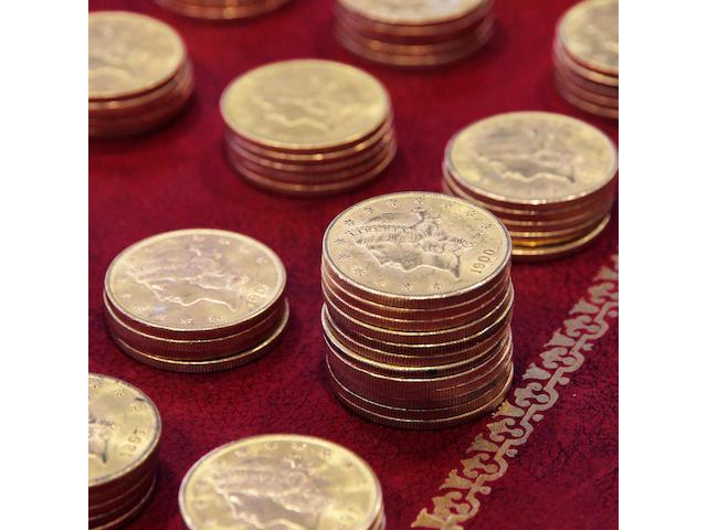 $20 coin collection (497)