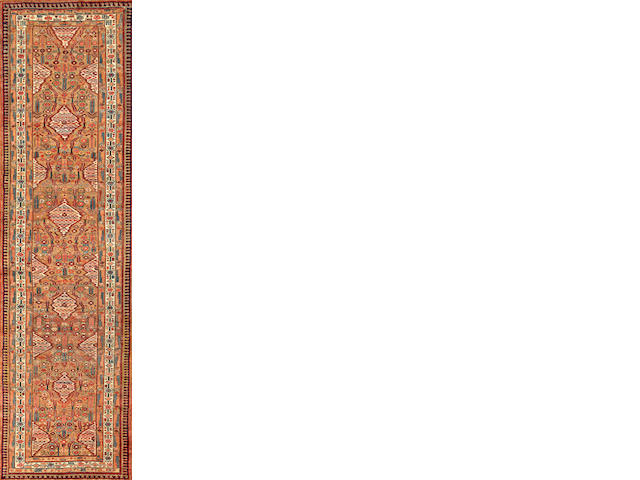 A Serab runner  Northwest Persia size approximately 3ft. 6in. x 12ft. 2in.