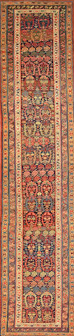 A Bidjar runner  Northwest Persia size approximately 3ft. 4in. x 15ft. 4in.