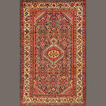 A Malayer rug  Central Persia size approximately 4ft. 4in. x 6ft. 1in.
