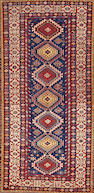 A Shirvan rug  Caucasus size approximately 4ft. 5in. x 8ft. 8in.
