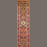 A Shahsavan runner  Northwest Persia size approximately 3ft. 5in. x 12ft. 10in.