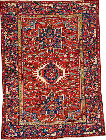 A Karadja rug  Northwest Persia size approximately 4ft. 7in. x 6ft. 3in.