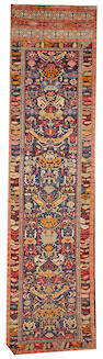 A Kuba runner  Caucasus size approximately 4ft. 5in. x 18ft. 3in.
