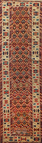A Shirvan runner  Caucasus size approximately 2ft. 11in. x 9ft.
