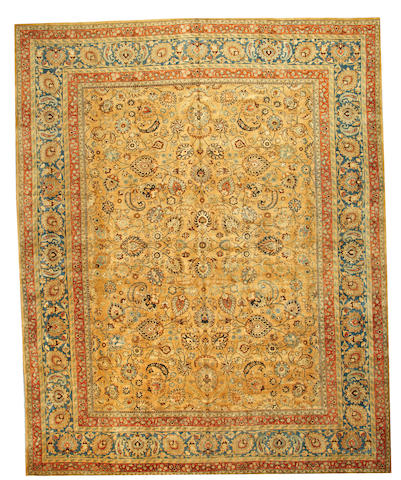 A Meshed carpet Northeast Persia size approximately 12ft. 3in. x 15ft. 3in.