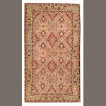 A Kerman rug South Central Persia size approximately 5ft. x 9ft.