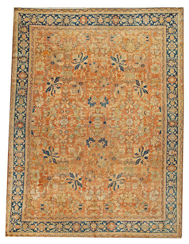 A Sultanabad carpet  Central Persia size approximately 9ft. 9in. x 12ft. 9in.