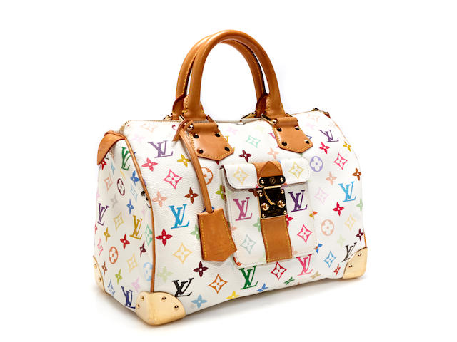 A Louis Vuitton monogram multicolore Speedy handbag