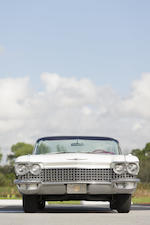 1960 Cadillac Series 62 Convertible  Chassis no. 60F112805